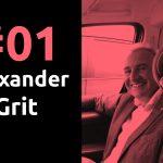 #01 lector van het lectoraat Ondernemen in Verandering, Alexander Grit, Pr8stijl Podcast