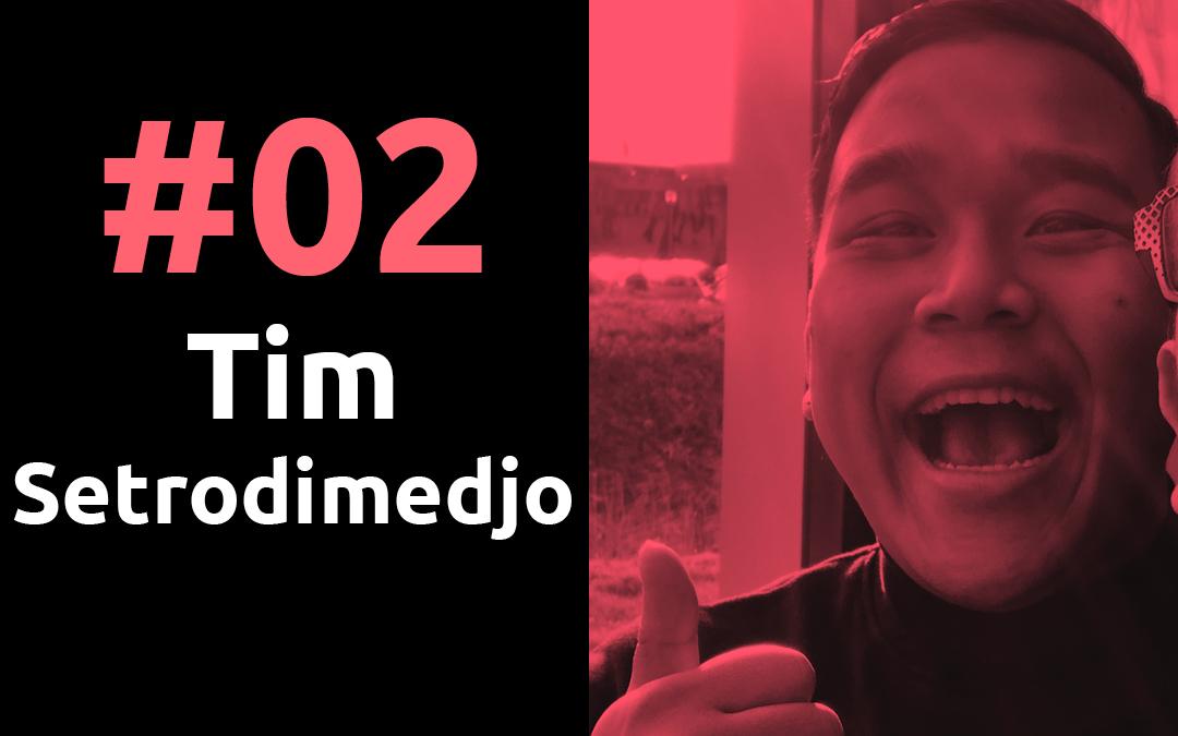 #02 DJ Sins of Insanity, Tim Setrodimedjo, Pr8stijl Podcast