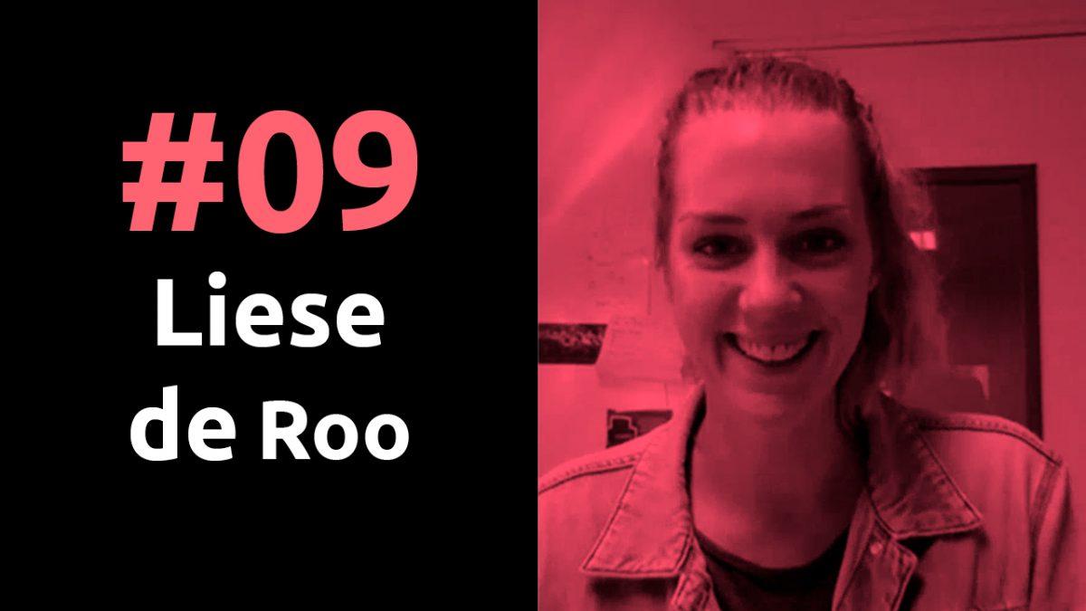 #09 Community Builder Liese de Roo van de Hanzehogeschool in Groningen, Pr8stijl Podcast